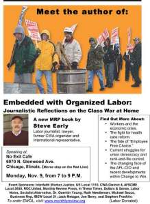 Embedded With Organized Labor